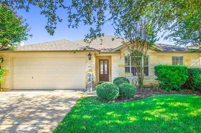 Round Rock Single Family Home For Sale: 4493 Heritage Well Ln