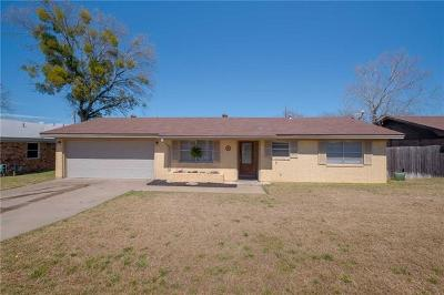 Coryell County Single Family Home For Sale: 1011 Pack Ave