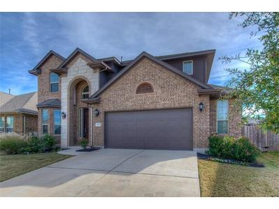 Leander Single Family Home Pending - Taking Backups: 2705 Granite Hill Dr