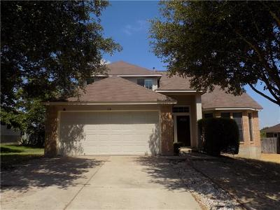 Hutto Rental For Rent: 119 Williams Way