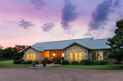 Burnet County Single Family Home For Sale: 1550 County Road 119