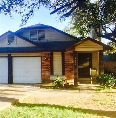Austin Single Family Home For Sale: 9001 Palace Pkwy
