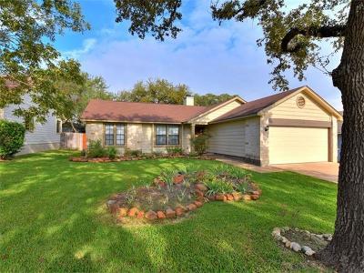 Cedar Park Single Family Home For Sale: 1305 Deep Brook Path