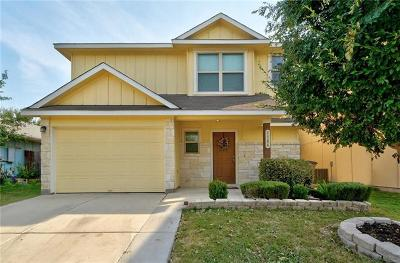 Hays County, Travis County, Williamson County Single Family Home Pending - Taking Backups: 7206 Thannas Way
