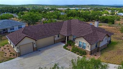 Lago Vista Single Family Home For Sale: 21900 Redbird Dr