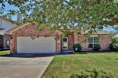 Leander Single Family Home For Sale: 100 Barn Owl Loop