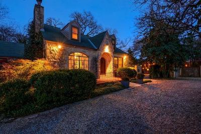 Austin TX Single Family Home For Sale: $1,090,000