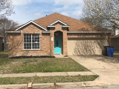 Pflugerville Single Family Home Pending - Taking Backups: 1704 Fast Filly Ave
