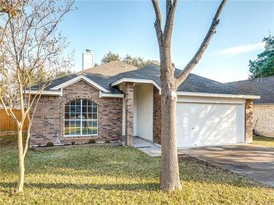 Leander Single Family Home For Sale: 2504 Armstrong Dr