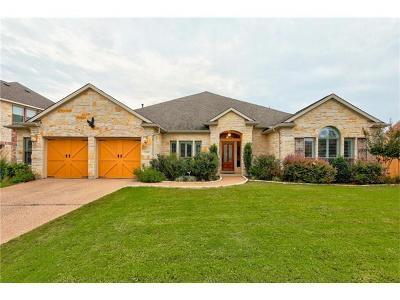 Round Rock Single Family Home Pending - Taking Backups: 2601 Dalea St