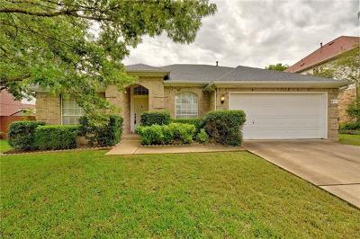 Cedar Park TX Single Family Home For Sale: $295,000