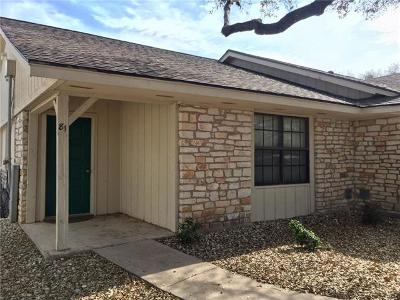 Lago Vista TX Condo/Townhouse Sold: $87,500