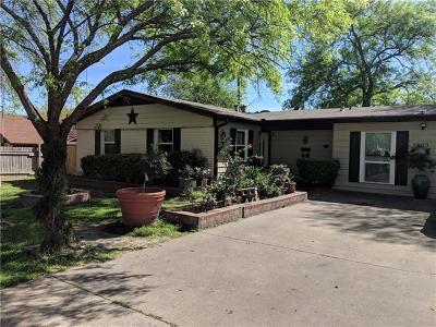 Austin TX Single Family Home Pending - Taking Backups: $233,000