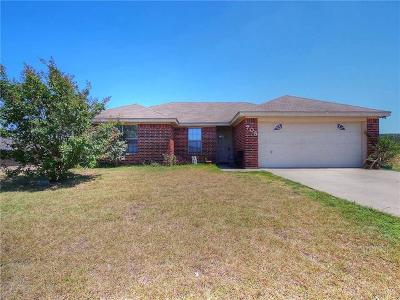 Harker Heights Single Family Home For Sale: 705 Jorgette Dr