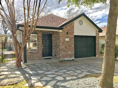 Round Rock Single Family Home Pending - Taking Backups: 1615 Parkfield Cir
