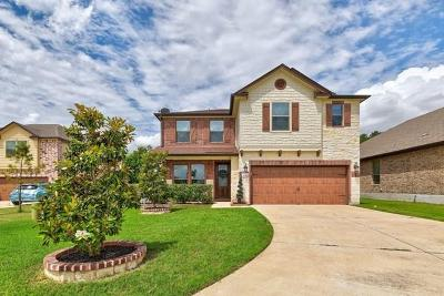 Leander Single Family Home Pending - Taking Backups: 1009 Tulip Lotus Cv
