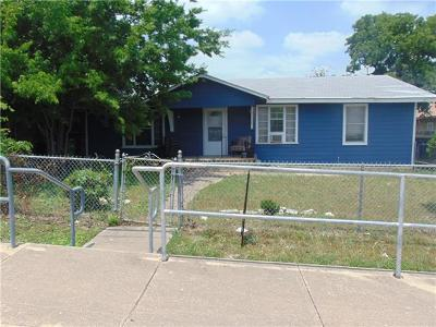 Round Rock Single Family Home For Sale: 102 E Liberty St