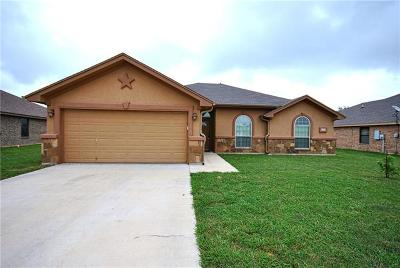 Killeen Single Family Home For Sale: 6409 Deorsam Loop