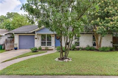 Austin Single Family Home Pending - Taking Backups: 1302 Turtle Creek Blvd