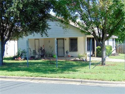 Austin TX Single Family Home For Sale: $290,000
