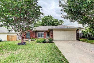 Round Rock TX Single Family Home Pending - Taking Backups: $210,000
