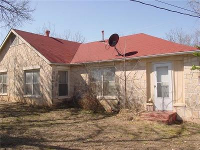 Burnet County Single Family Home Pending - Taking Backups: 419 Broadway St