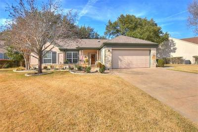 Georgetown Single Family Home For Sale: 104 Llano Cv
