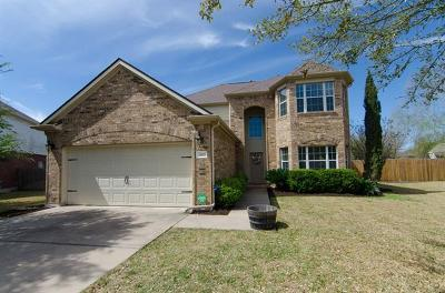 Pflugerville Single Family Home For Sale: 2801 Beach Plum Cv