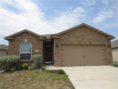 Williamson County Single Family Home For Sale: 213 Farmer Ln