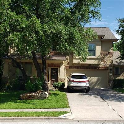 Round Rock Single Family Home For Sale: 3816 Octavia Ln