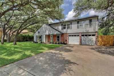 Round Rock Single Family Home For Sale: 1600 Wood Rock Dr