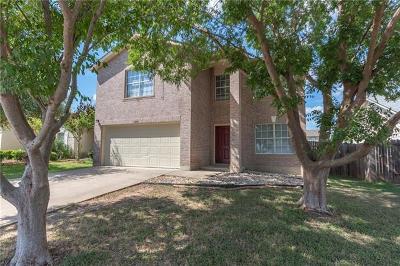 Del Valle Single Family Home Pending - Taking Backups: 12808 Quirin Dr