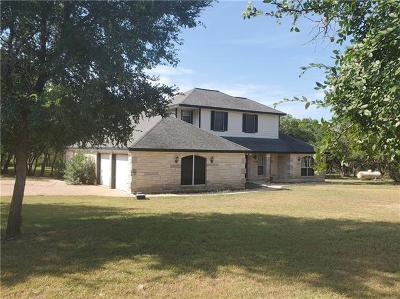 Liberty Hill Single Family Home For Sale: 1255 County Road 204