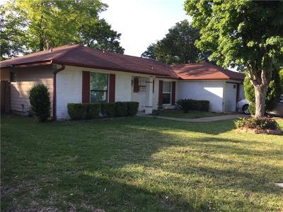 Austin Single Family Home For Sale: 9802 Kendal Dr