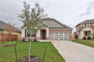Manor Single Family Home For Sale: 12609 Valor Ct