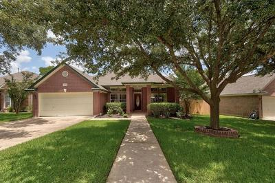 Round Rock Single Family Home For Sale: 8408 Ironweed Run