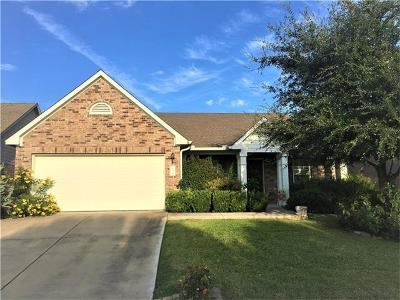 Round Rock Single Family Home For Sale: 130 Justin Leonard Dr