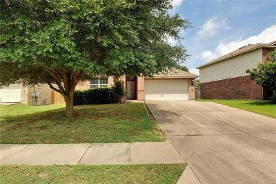 Pflugerville Single Family Home For Sale: 2801 Kickapoo Cavern Dr