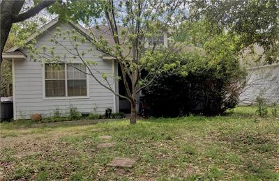 Georgetown Single Family Home Pending - Taking Backups: 1602 19th St
