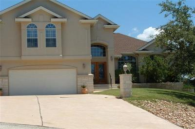 Lago Vista Single Family Home For Sale: 21735 Sierra Trl