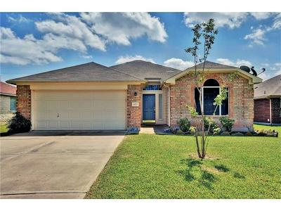 Hutto Single Family Home For Sale: 4017 Kerley Ct