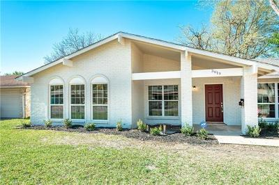 Single Family Home For Sale: 3019 Val Dr