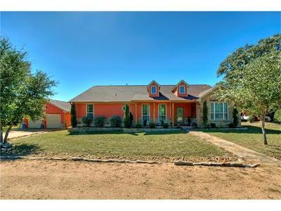 Burnet County Single Family Home For Sale: 205 Ash Juniper Way