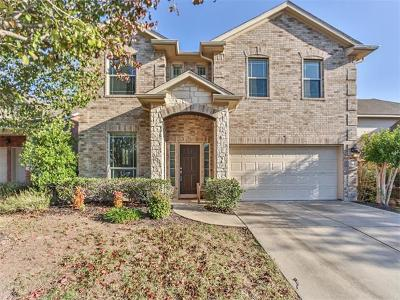Pflugerville Single Family Home For Sale: 19401 Gale Meadow Dr