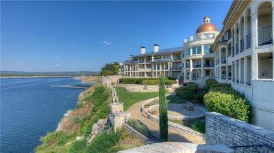 Lago Vista Condo/Townhouse For Sale: 3404 American Dr #3208