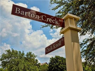 Austin Residential Lots & Land For Sale: 8004 Chalk Knoll Dr