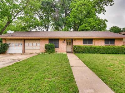 Austin Single Family Home For Sale: 1302 Clearfield Dr