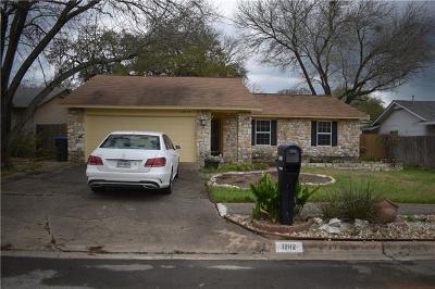 Single Family Home Pending - Taking Backups: 12112 Acorn Creek Trl