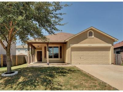 Hays County, Travis County, Williamson County Single Family Home For Sale: 5528 Alomar Cv
