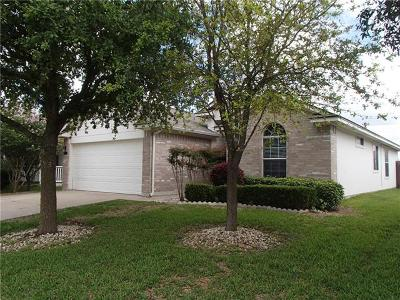 Jarrell Single Family Home For Sale: 313 Shale Dr